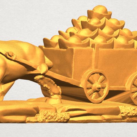 TDA0315 Golden Car A09.png Download free STL file Golden Car • 3D printer template, GeorgesNikkei