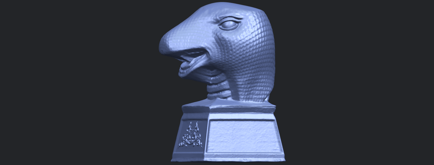 19_TDA0513_Chinese_Horoscope_of_Snake.02B03.png Download free STL file Chinese Horoscope of Snake 02 • 3D printer design, GeorgesNikkei
