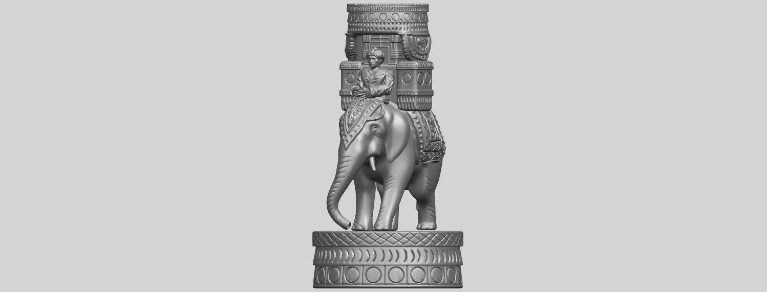 TDA0731_Elephant_08A02.png Download free STL file Elephant 08 • 3D printable template, GeorgesNikkei