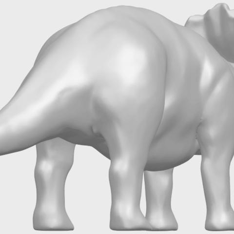 17_TDA0759_Triceratops_01A05.png Télécharger fichier STL gratuit Triceratops 01 • Modèle pour imprimante 3D, GeorgesNikkei