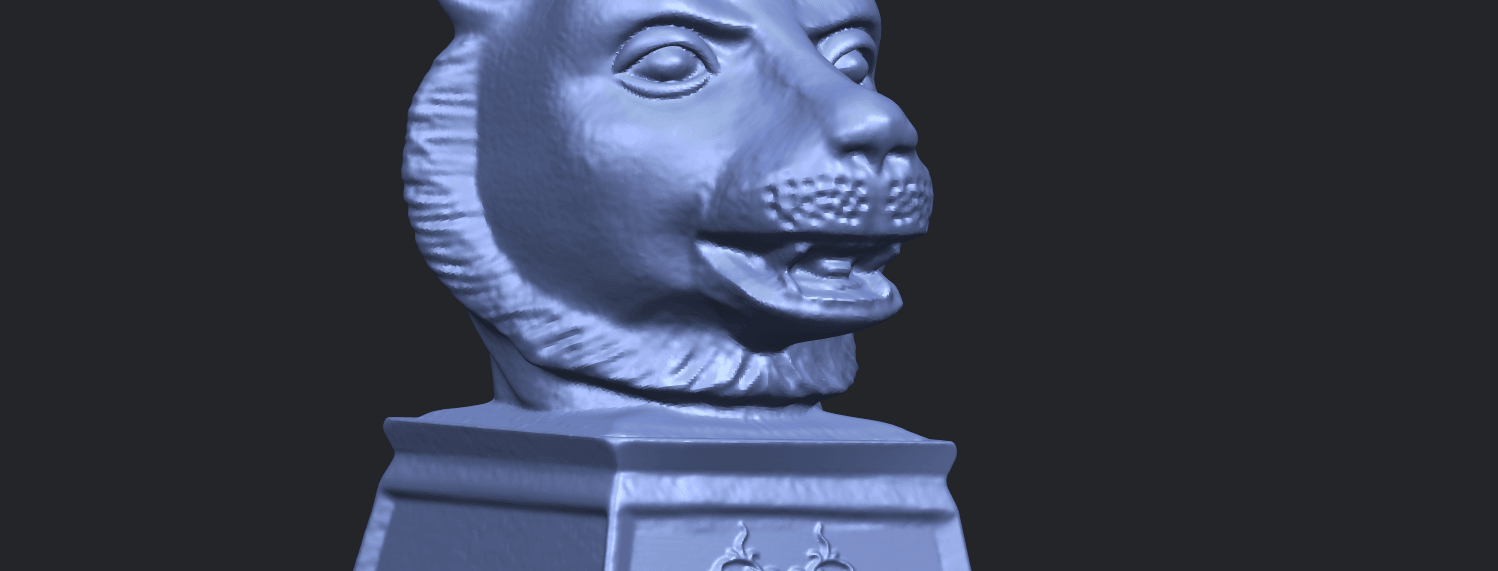 15_TDA0510_Chinese_Horoscope_of_Tiger_02A10.png Download free STL file Chinese Horoscope of Tiger 02 • 3D print object, GeorgesNikkei