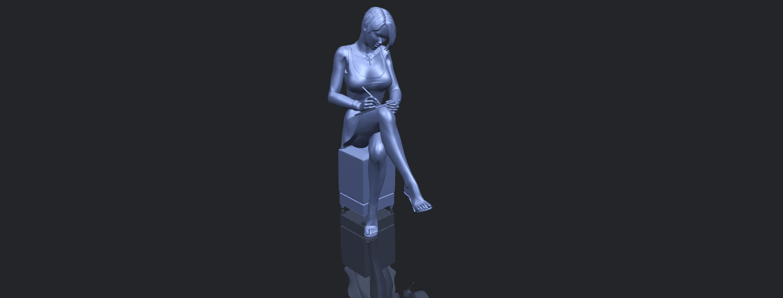 19_TDA0471_Beautiful_Girl_05_B00-1.png Download free STL file Beautiful Girl 05 • 3D printing template, GeorgesNikkei