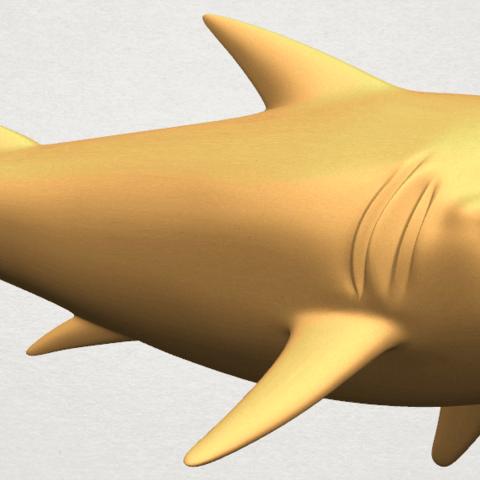 TDA0486 Shark A05.png Download free STL file Shark • 3D print design, GeorgesNikkei