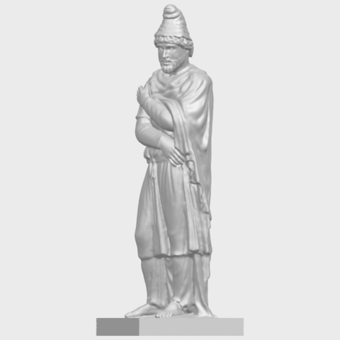 17_TDA0266_Tiridates_I_of_ArmeniaA03.png Download free STL file Tiridates I of Armenia • 3D print model, GeorgesNikkei