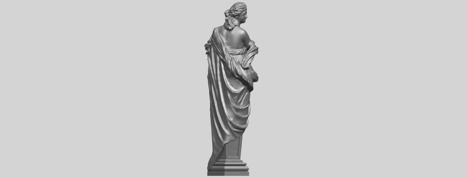 12_TDA0260_Sculpture_AutumnA08.png Download free STL file Sculpture - Autumn • 3D print template, GeorgesNikkei