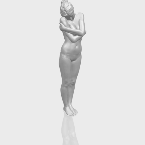 Free 3D printer model Naked Girl J07, GeorgesNikkei
