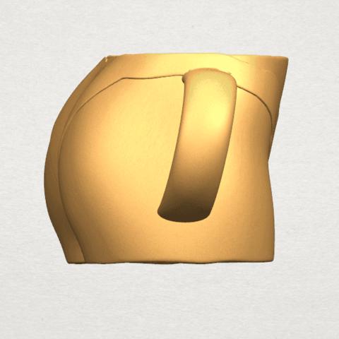 TDA0619 Bikini Cup A07.png Download free STL file Bikini Cup • 3D printer design, GeorgesNikkei