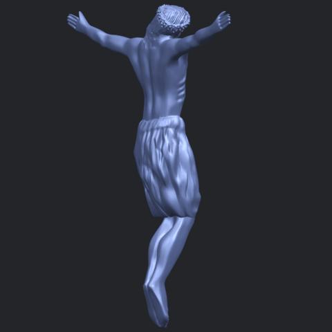 04_TDA0232_Jesus_iii_88mmB08.png Download free STL file Jesus 03 • 3D printable template, GeorgesNikkei