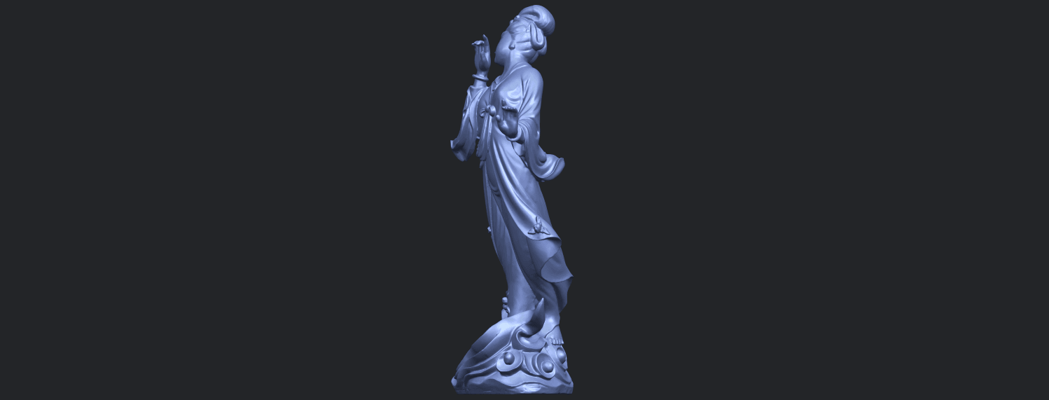 01_TDA0448_Fairy_03B03.png Download free STL file Fairy 03 • 3D printable object, GeorgesNikkei
