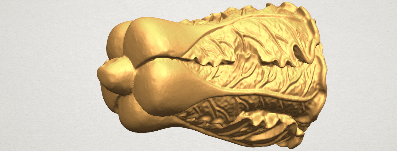 TDA0497 Vegetable - Fatt Choi 03 A04.png Download free STL file Vegetable - Fatt Choi • 3D printable object, GeorgesNikkei