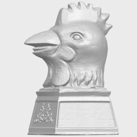 18_TDA0517_Chinese_Horoscope_of_Rooster_02A03.png Download free STL file Chinese Horoscope of Rooster 02 • 3D printable object, GeorgesNikkei