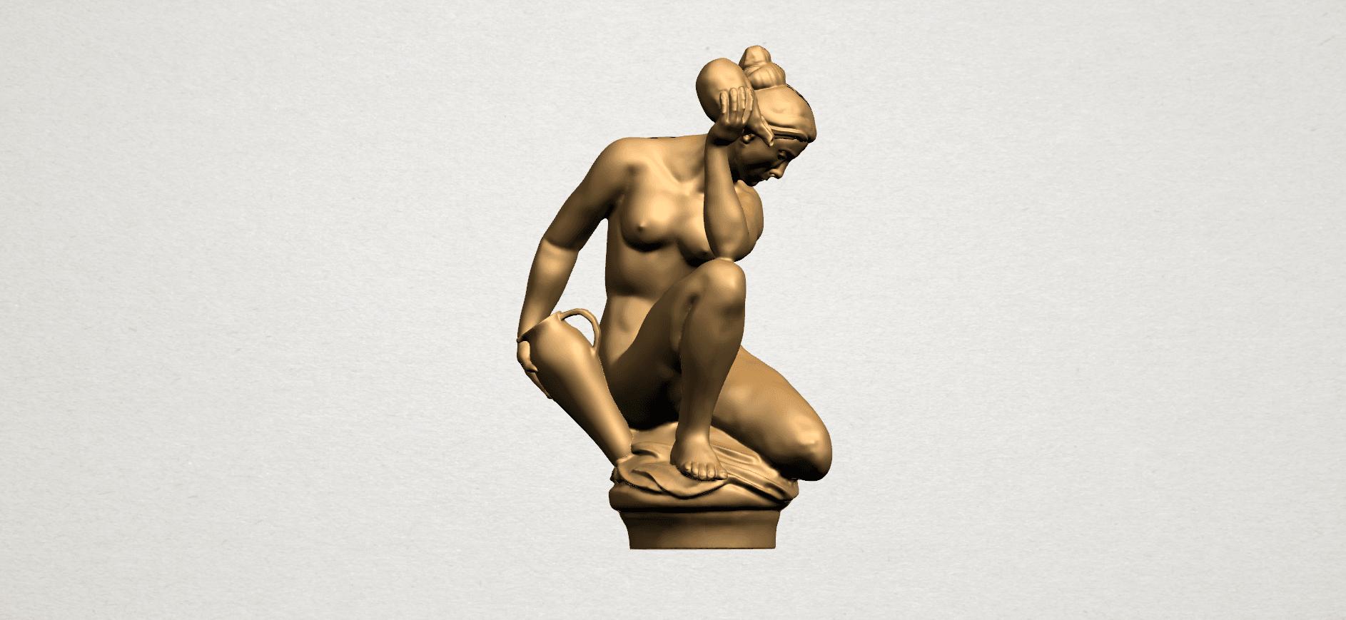 Naked Girl - With Pot - A01.png Télécharger fichier STL gratuit Fille Nue - Avec Pot • Modèle à imprimer en 3D, GeorgesNikkei