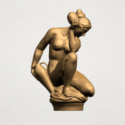 Download free 3D printer designs Naked Girl - With Pot, GeorgesNikkei