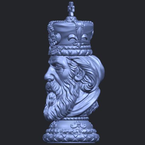 06_TDA0254_Chess-The_KingB03.png Télécharger fichier STL gratuit Chess-Le roi des échecs • Objet pour impression 3D, GeorgesNikkei