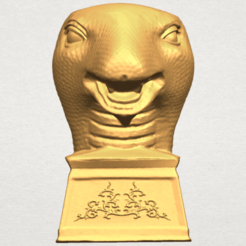 Download free 3D printing templates Chinese Horoscope of Snake 02, GeorgesNikkei