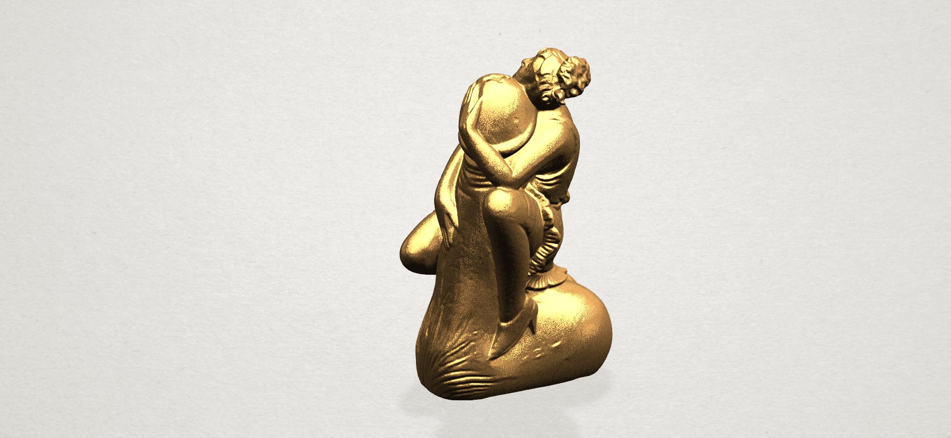 Alice hugging Dick - C01.png Download free STL file Alice hugging Dick • 3D printer design, GeorgesNikkei