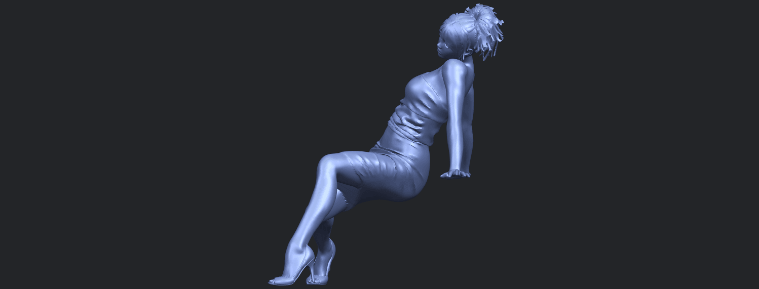 15_TDA0662_Naked_Girl_G10B03.png Download free STL file Naked Girl G10 • 3D printable template, GeorgesNikkei