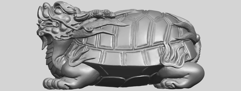 01_TDA0333_Dragon_TortoiseA01.png Télécharger fichier STL gratuit Tortue dragon • Objet imprimable en 3D, GeorgesNikkei