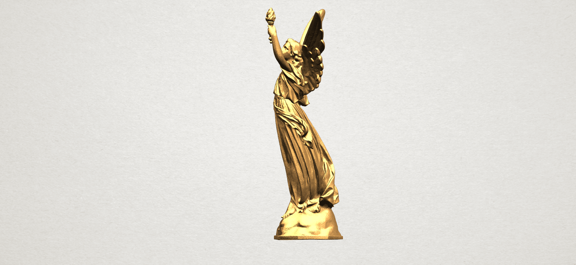 Statue 01 - A03.png Download free STL file Statue 01 • Object to 3D print, GeorgesNikkei