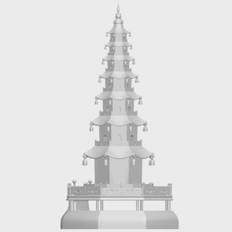 03_TDA0623_Chiness_pagodaA05.png Download free STL file Chiness pagoda • Design to 3D print, GeorgesNikkei