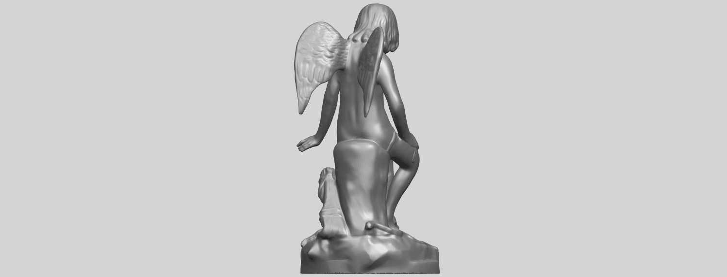05_Angel_and_Dog_80mmA07.png Download free STL file Angel and Dog • 3D print model, GeorgesNikkei