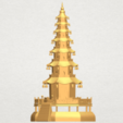 Download free 3D printer templates Chiness pagoda, GeorgesNikkei
