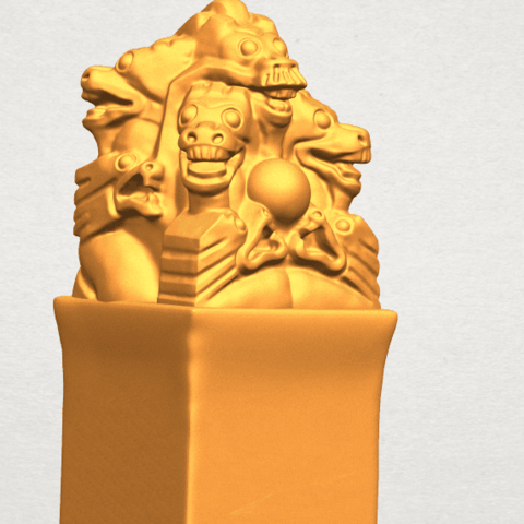 A11.png Download free STL file Dragon Stamp 02 • 3D printing model, GeorgesNikkei