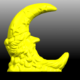 Download free STL files Moon, GeorgesNikkei