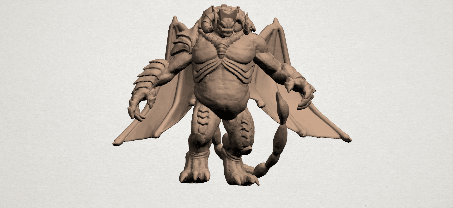 Monster (i) A01.png Download free STL file Monster 01 • 3D printable template, GeorgesNikkei