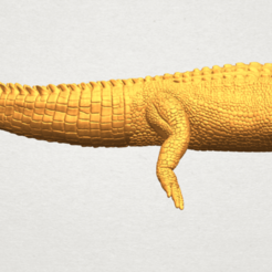 Free 3D model Alligator 01, GeorgesNikkei