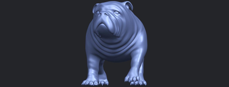14_TDA0520_Bull_Dog_01B01.png Télécharger fichier STL gratuit Chien de taureau 01 • Plan pour impression 3D, GeorgesNikkei