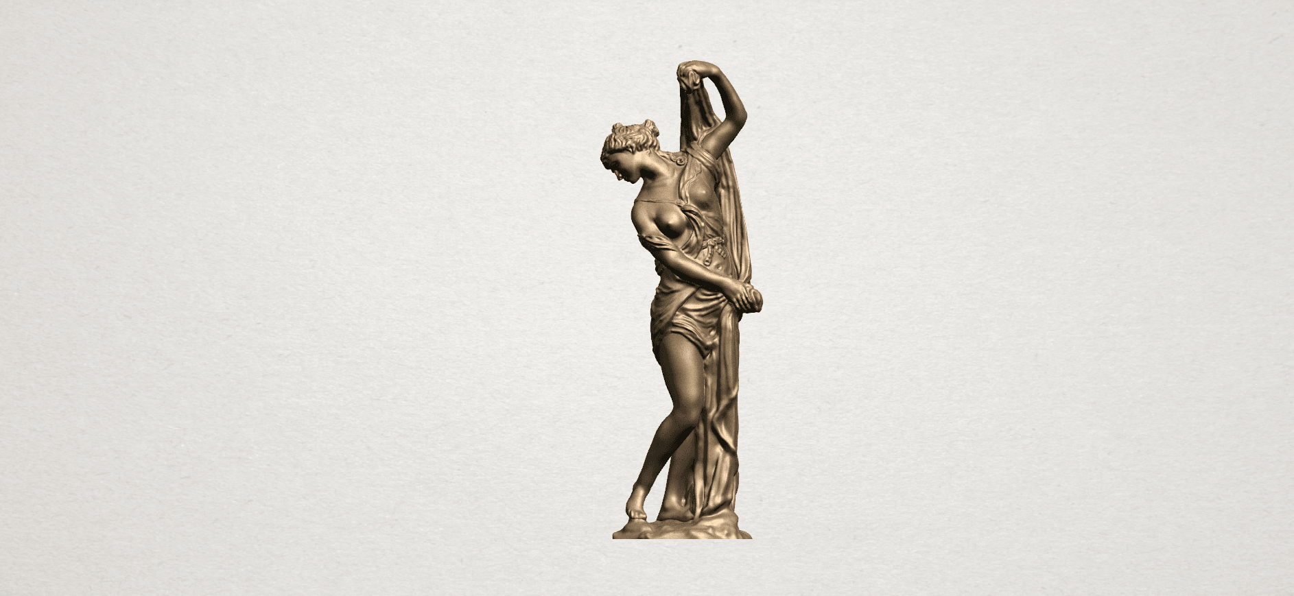 Naked Girl (vii) A01.png Download free STL file Naked Girl 07 • 3D printable design, GeorgesNikkei