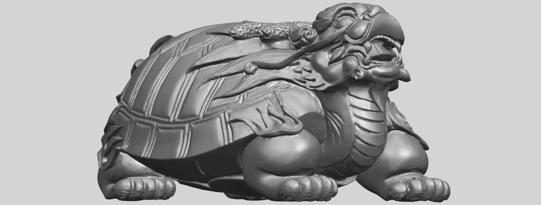 01_TDA0333_Dragon_TortoiseA08.png Télécharger fichier STL gratuit Tortue dragon • Objet imprimable en 3D, GeorgesNikkei