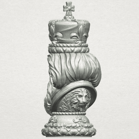 TDA0254 Chess-The King A06.png Download free STL file Chess-The King • 3D printer model, GeorgesNikkei