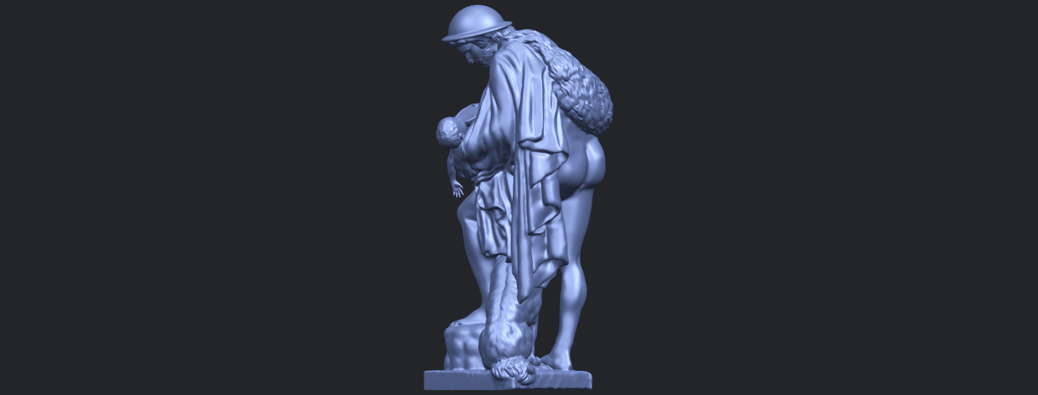 20_TDA0221_Father_and_Son_(iii)_88mmB05.png Download free STL file Father and Son 3 • 3D print model, GeorgesNikkei