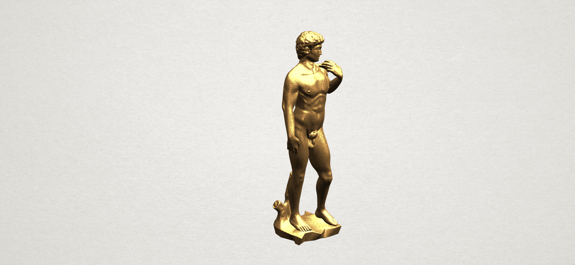Michelangelo(i) -B01.png Download free STL file Michelangelo 01 • 3D printable template, GeorgesNikkei