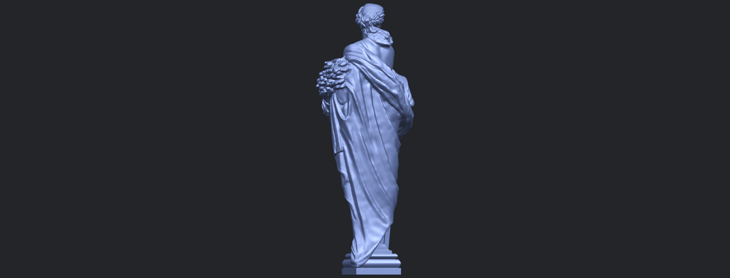 12_TDA0260_Sculpture_AutumnB06.png Download free STL file Sculpture - Autumn • 3D print template, GeorgesNikkei