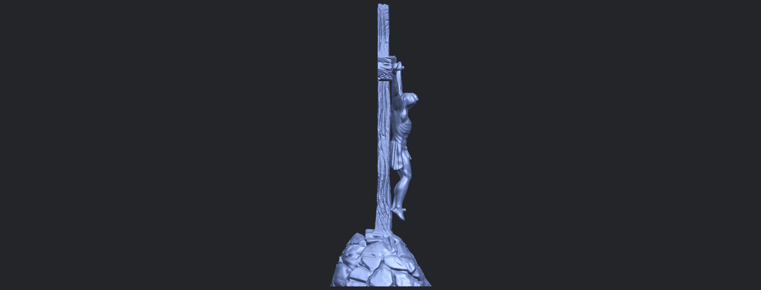 12_TDA0229_Jesus_with_cross_ii_88mmB09.png Download free STL file Jesus with cross 02 • Template to 3D print, GeorgesNikkei