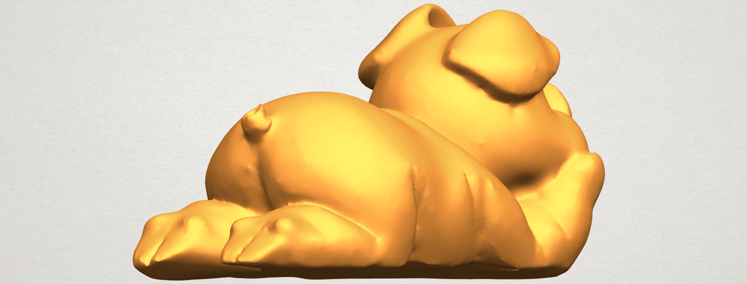 A05.png Download free STL file Pig 01 • 3D printing object, GeorgesNikkei