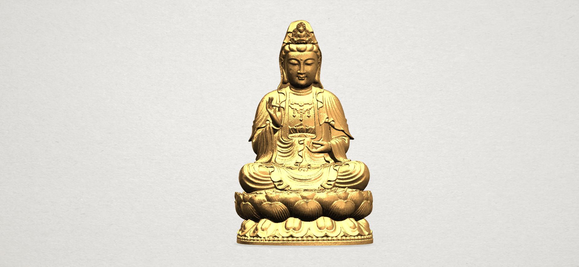 Bodhisattva Buddha - B01.png Download free STL file Avalokitesvara Bodhisattva 01 • 3D print object, GeorgesNikkei