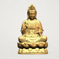 Free 3D printer designs Avalokitesvara Bodhisattva 01, GeorgesNikkei
