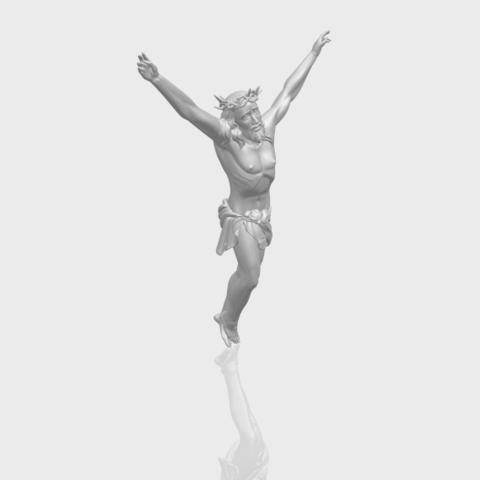 05_TDA0231_Jesus_(ii)_88mmA00-1.png Download free STL file Jesus 02 • 3D printing template, GeorgesNikkei