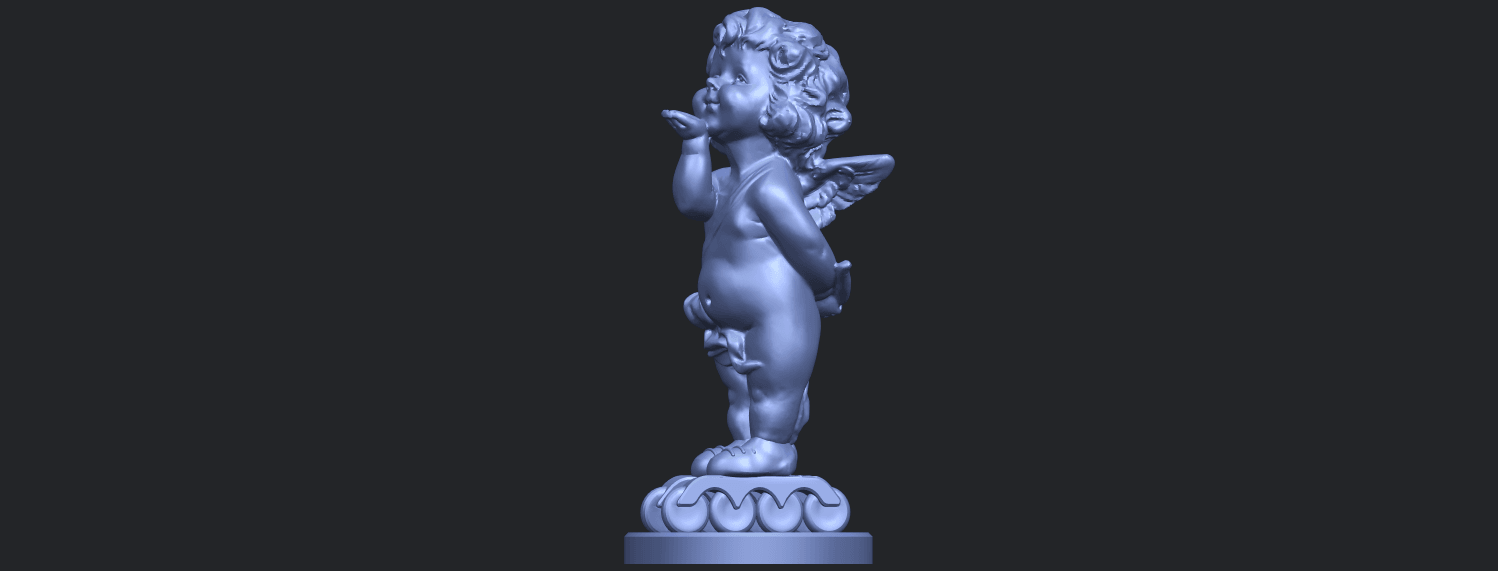 03_TDA0480_Angel_Baby_03B03.png Download free STL file Angel Baby 03 • 3D printing template, GeorgesNikkei
