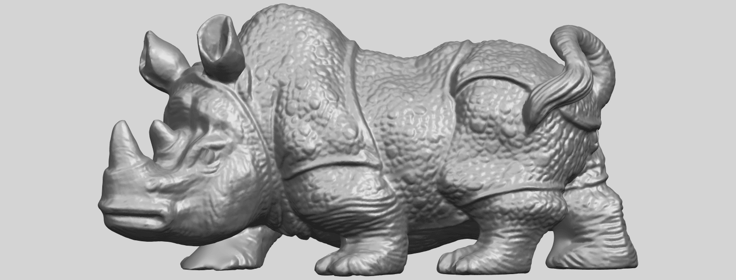 02_TDA0312_Rhinoceros_iv_FemaleA01.png Download free STL file  Rhinoceros 05 Female • 3D print object, GeorgesNikkei
