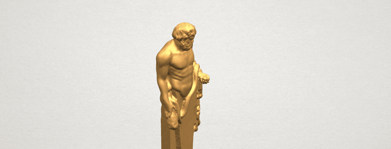 TDA0466 Sculpture of a man 02 A07.png Download free STL file Sculpture of a man 03 • 3D print model, GeorgesNikkei