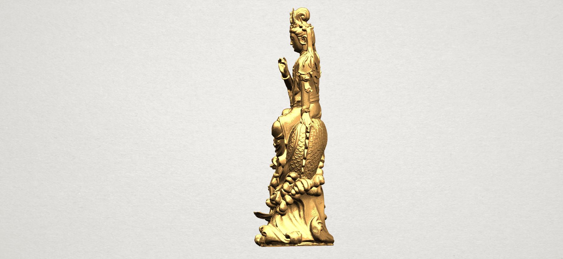 Avalokitesvara Bodhisattva (with fish) 88mm - A03.png Télécharger fichier 3DS gratuit Avalokitesvara Bodhisattva (avec poisson) 01 • Modèle imprimable en 3D, GeorgesNikkei