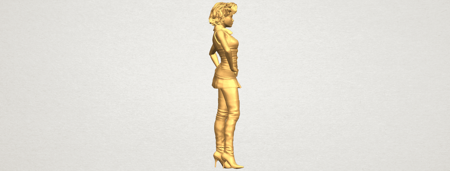 TDA0473 Beautiful Girl 07 A07.png Télécharger fichier STL gratuit Belle Fille 07 • Design à imprimer en 3D, GeorgesNikkei