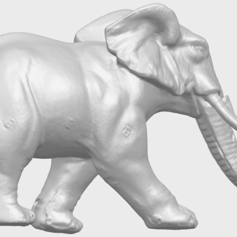 07_Elephant_01_92.6mmA06.png Download free STL file Elephant 01 • 3D printer design, GeorgesNikkei