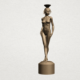 Naked girl-vase-B01.png Download free STL file Naked Girl with Vase on Top (i) • 3D print template, GeorgesNikkei