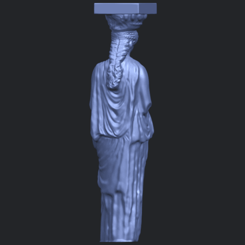 19_Pose_with_Girl_80mmB07.png Download free STL file Pose with Girl • 3D printable template, GeorgesNikkei